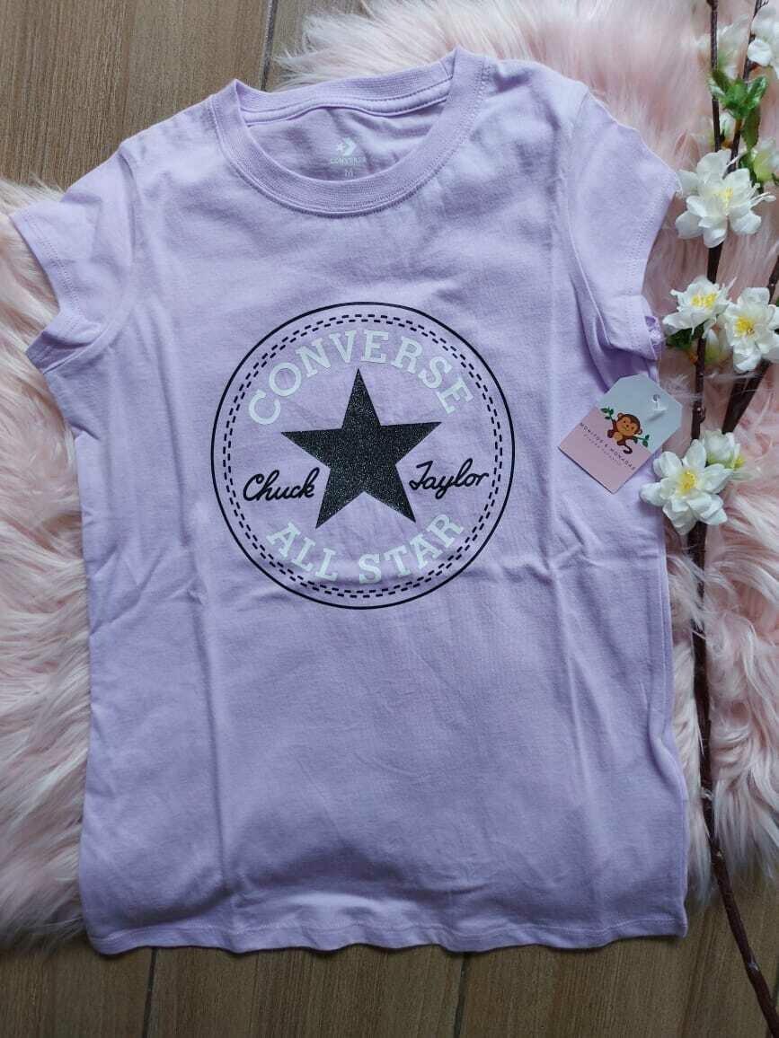 Camiseta Lila, Talla M (10/12 años)