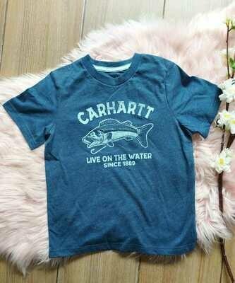 Camiseta azul marino, 5 años