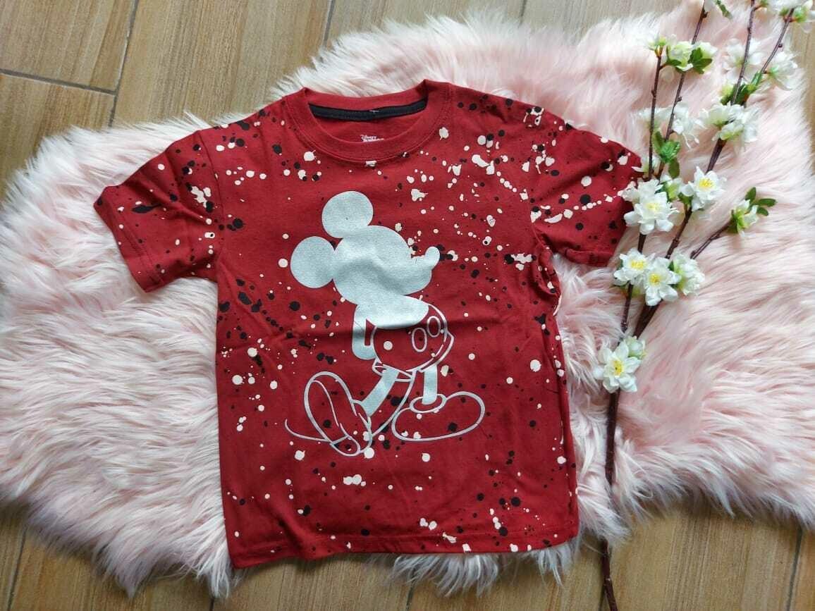 Camiseta vino de Mickey Mouse, 5/6 años
