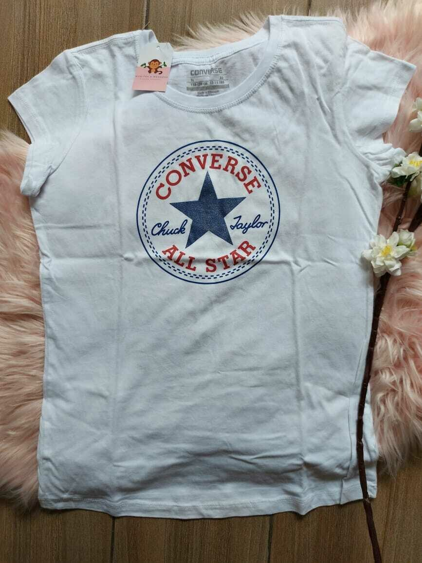 Camiseta Blanca Converse, 13/15 años