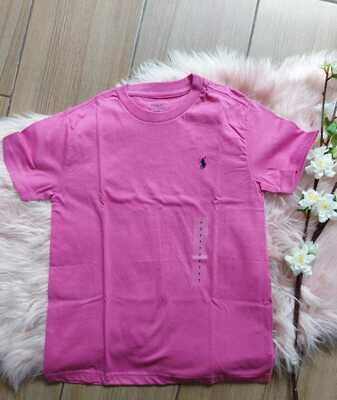 Camiseta fucsia, 7 años