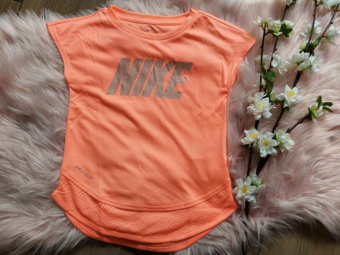 Blusa deportiva neón, Nike 5-6 años