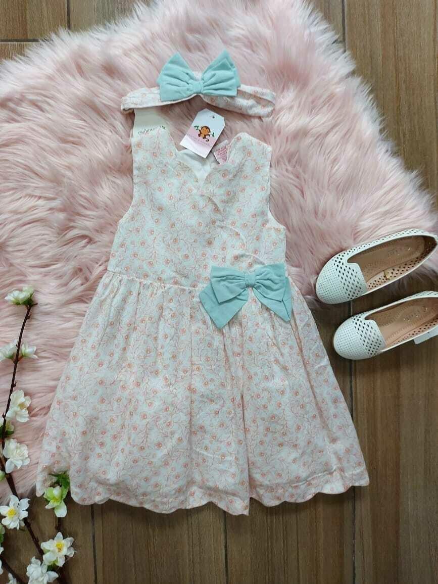 Vestido + cintillo,  Catherine Malandrino, 3 años