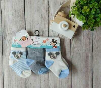 Pack 6 pares de medias para niño, Mickey Mouse