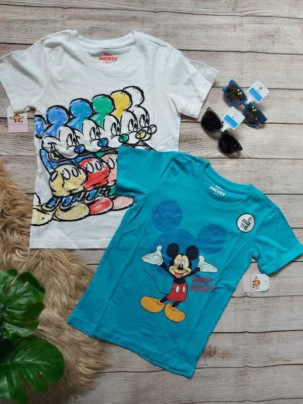 Pack 2 camisetas Mickey Mouse, 7 años