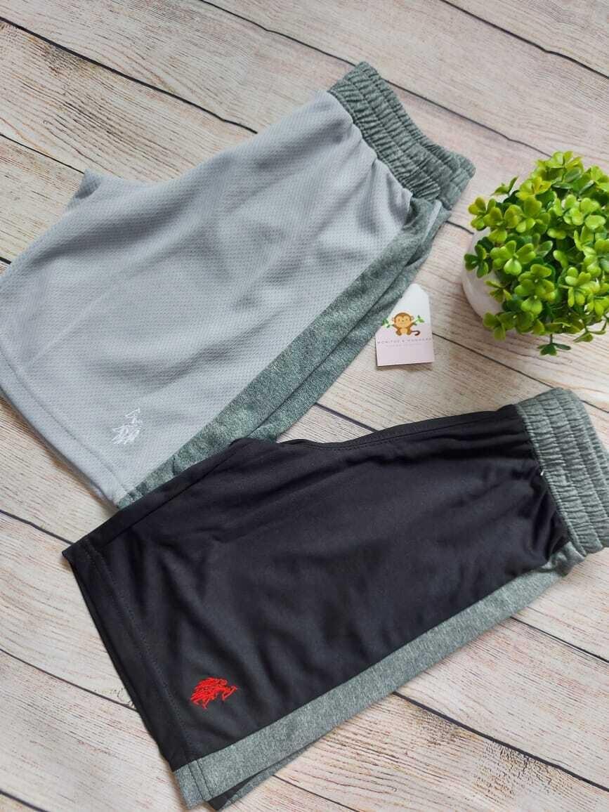 Pack 2 pantalonetas deportivas Polo Assn 4 años
