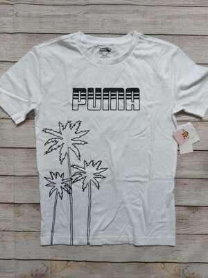 Camiseta Puma Blanca, Talla 14-16 años