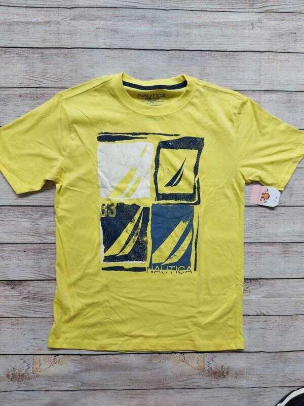 Camiseta Nautica color amarillo, 14-16 años