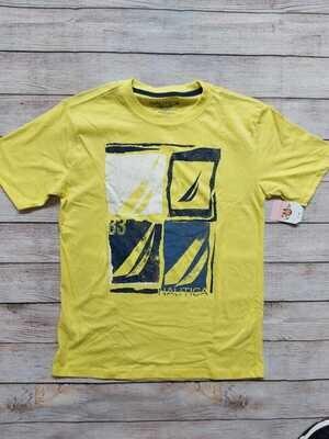 Camiseta Náutica color amarillo, 14-16 años