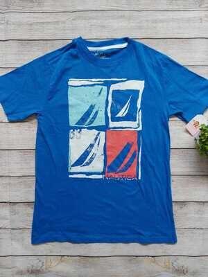 Camiseta Náutica color azul, Talla 14-16 años