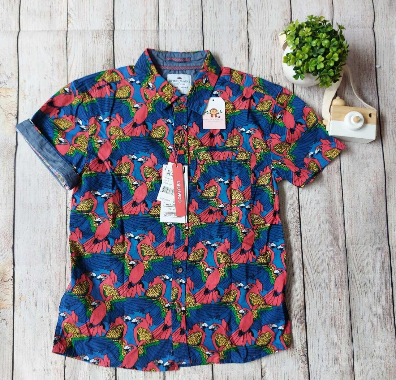 Camiseta estilo tropical, 8 años