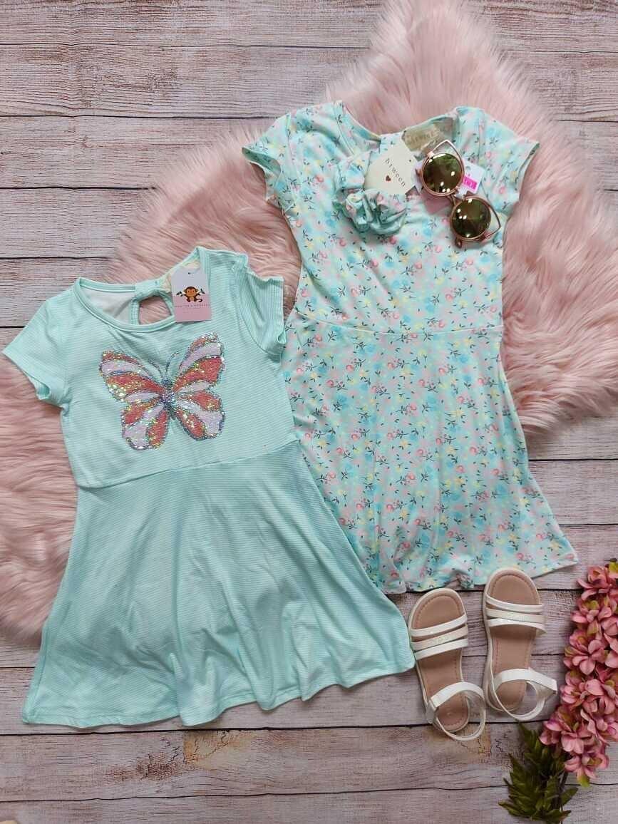 Pack 2 vestidos Mariposa, 5 años