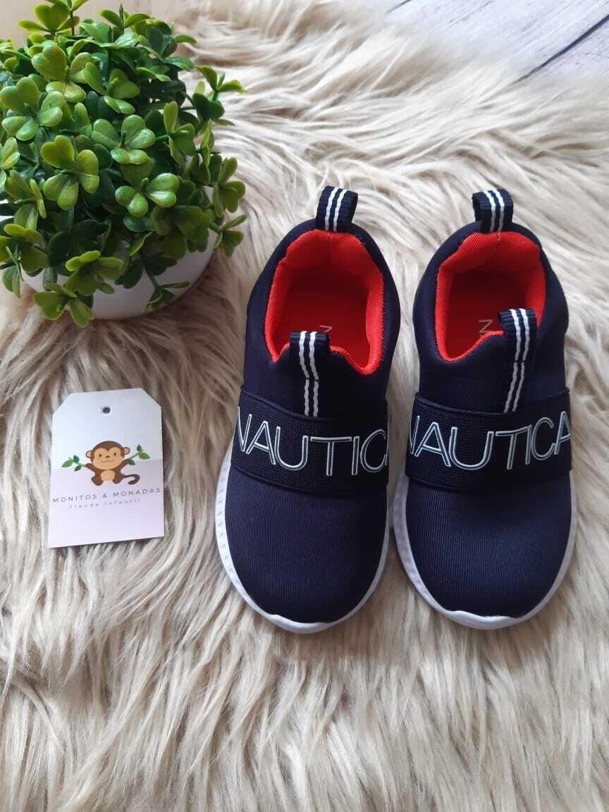 Zapatos Nautica azul, Talla 6 us