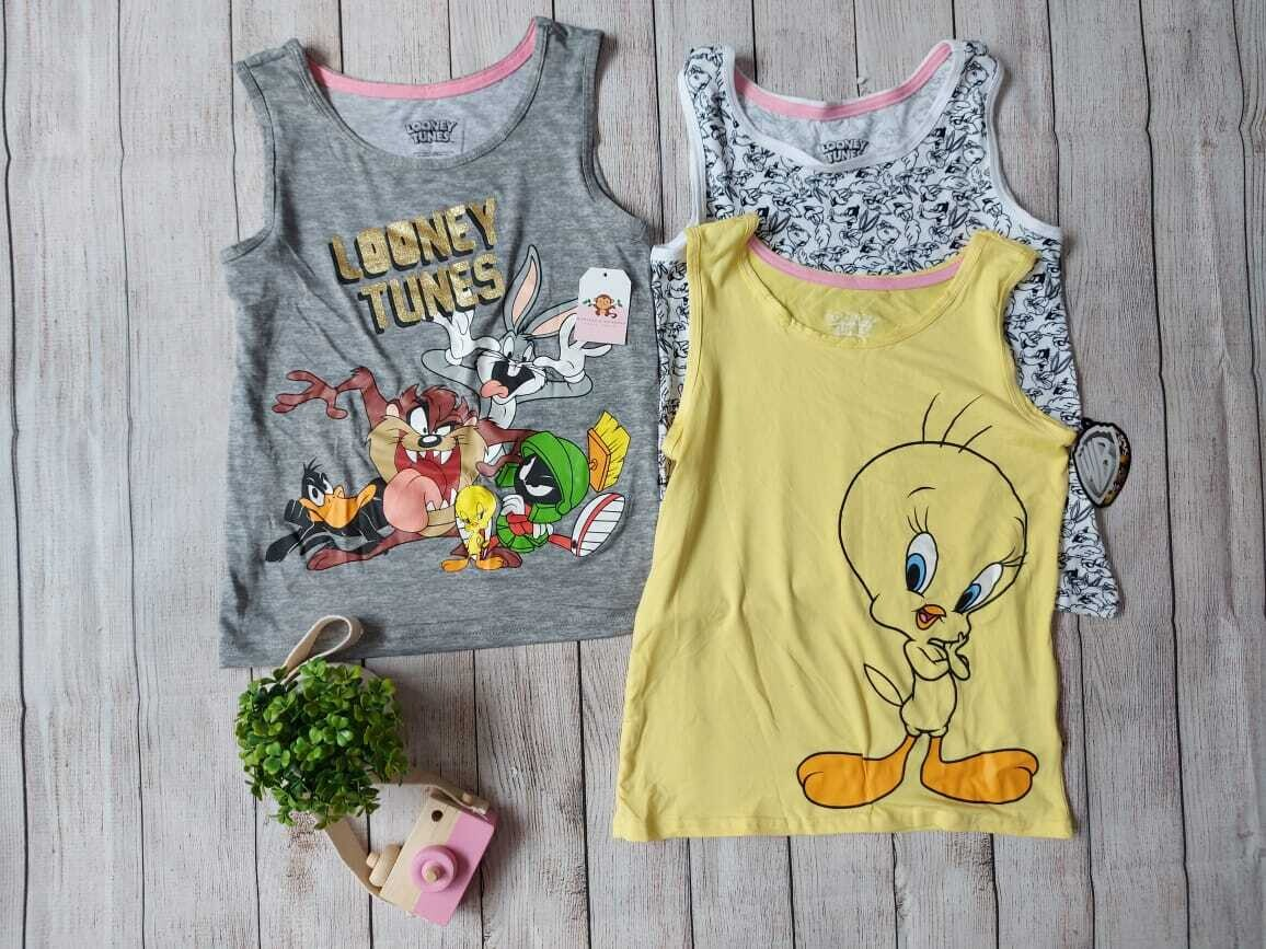 Set 3 blusas, Looney Tunes, 12t