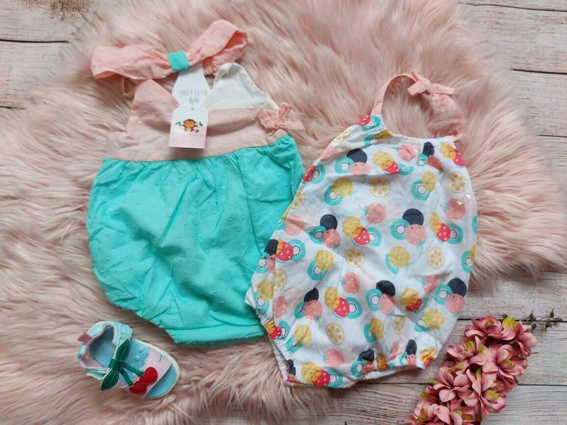 Set 2 bodysuits de donas, 18 meses