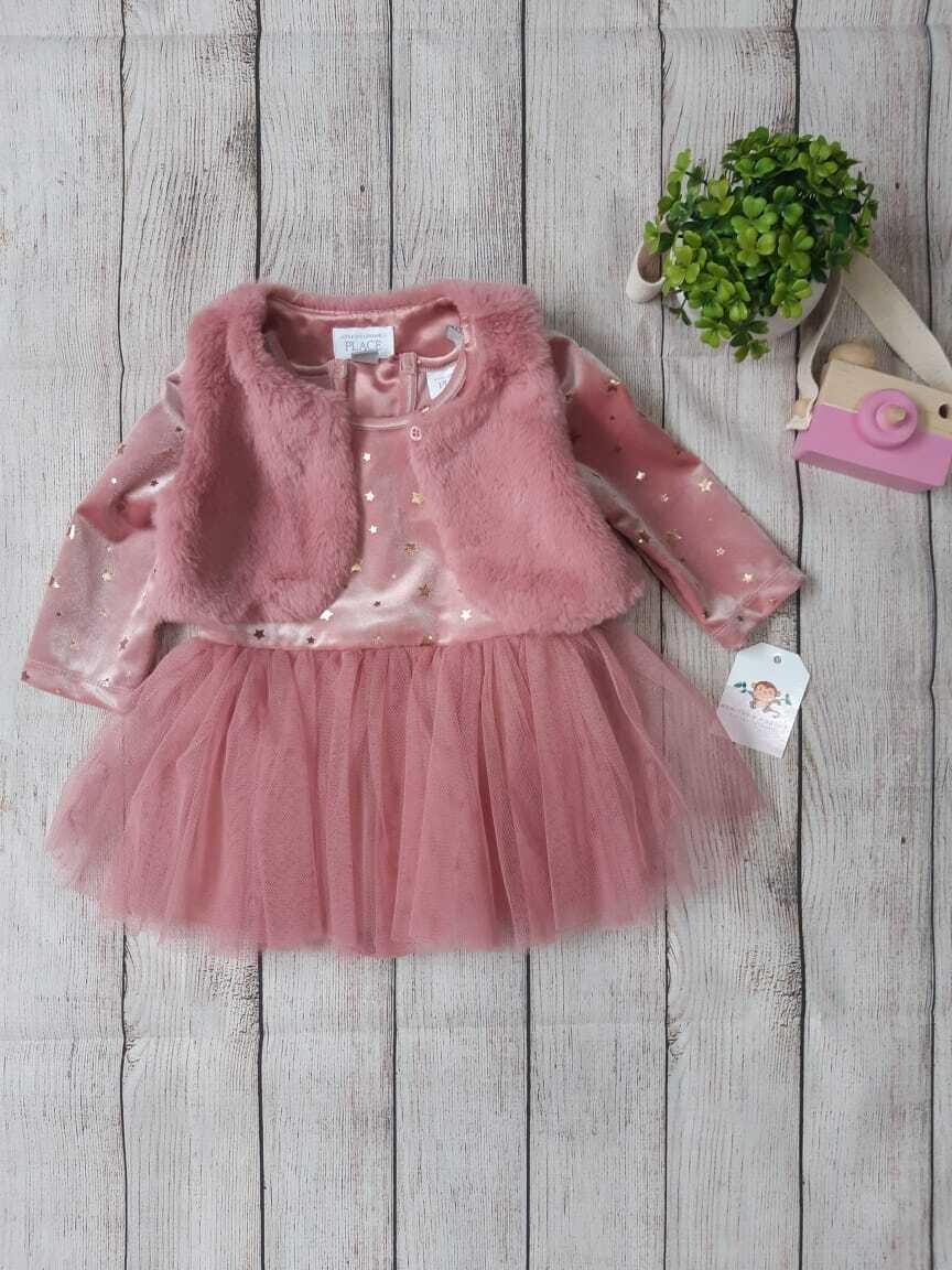 Vestido Children's Place, 6 a 9 meses