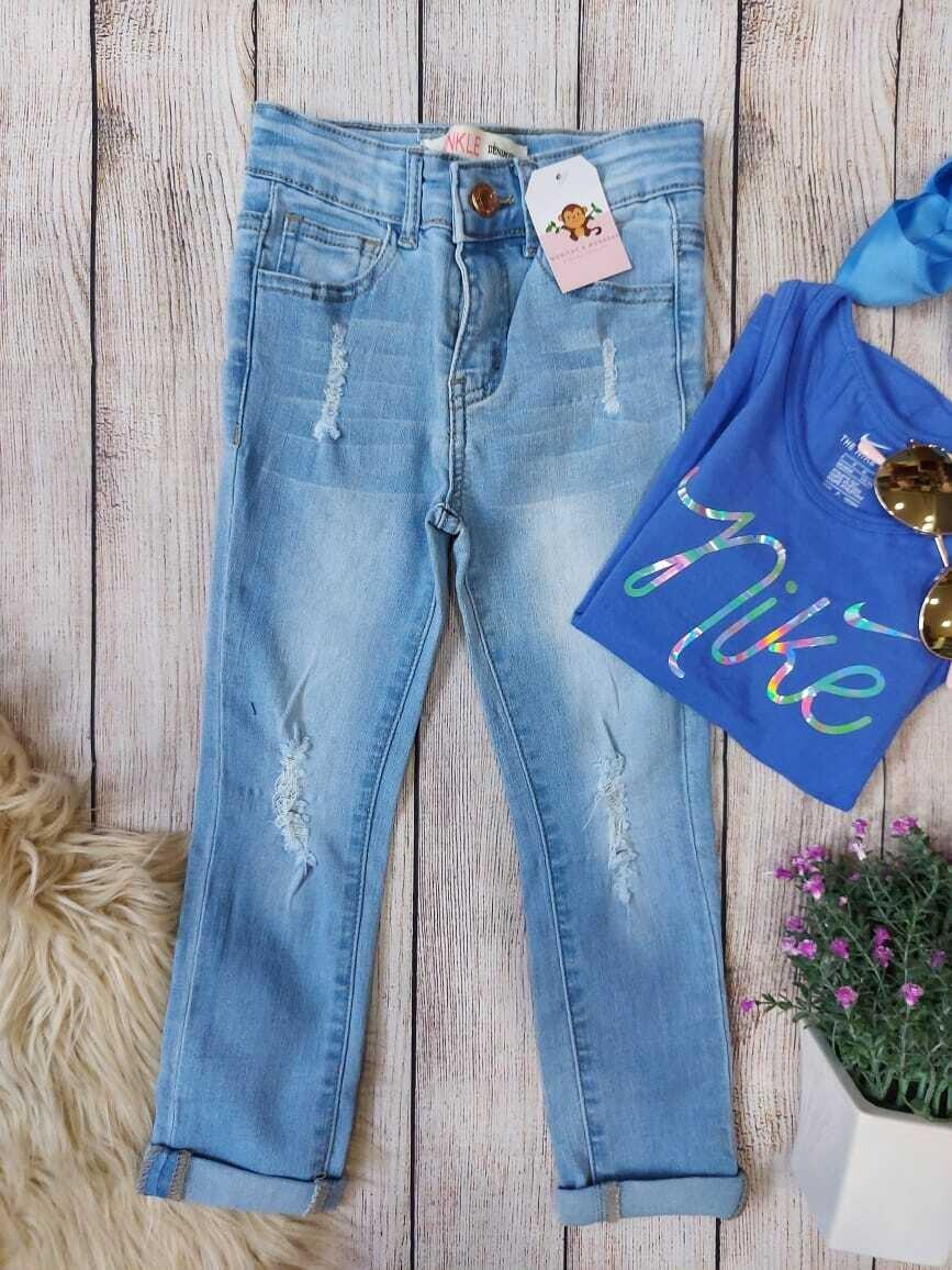 Jeans Ankle denim Diva, 4 años