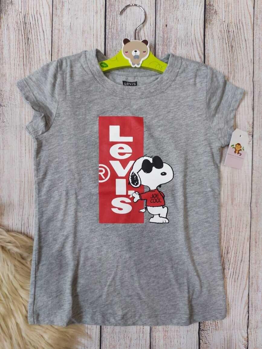 Camiseta Levi's gris, 5-6 años