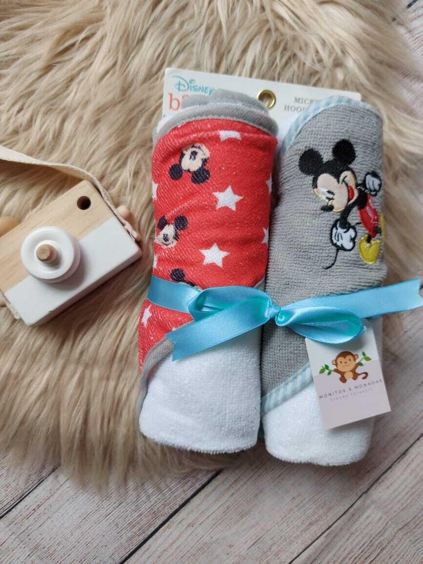 Pack 2 toallas de Mickey Mouse