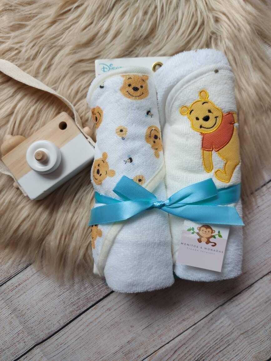 Pack 2 toallas de Winnie Pooh