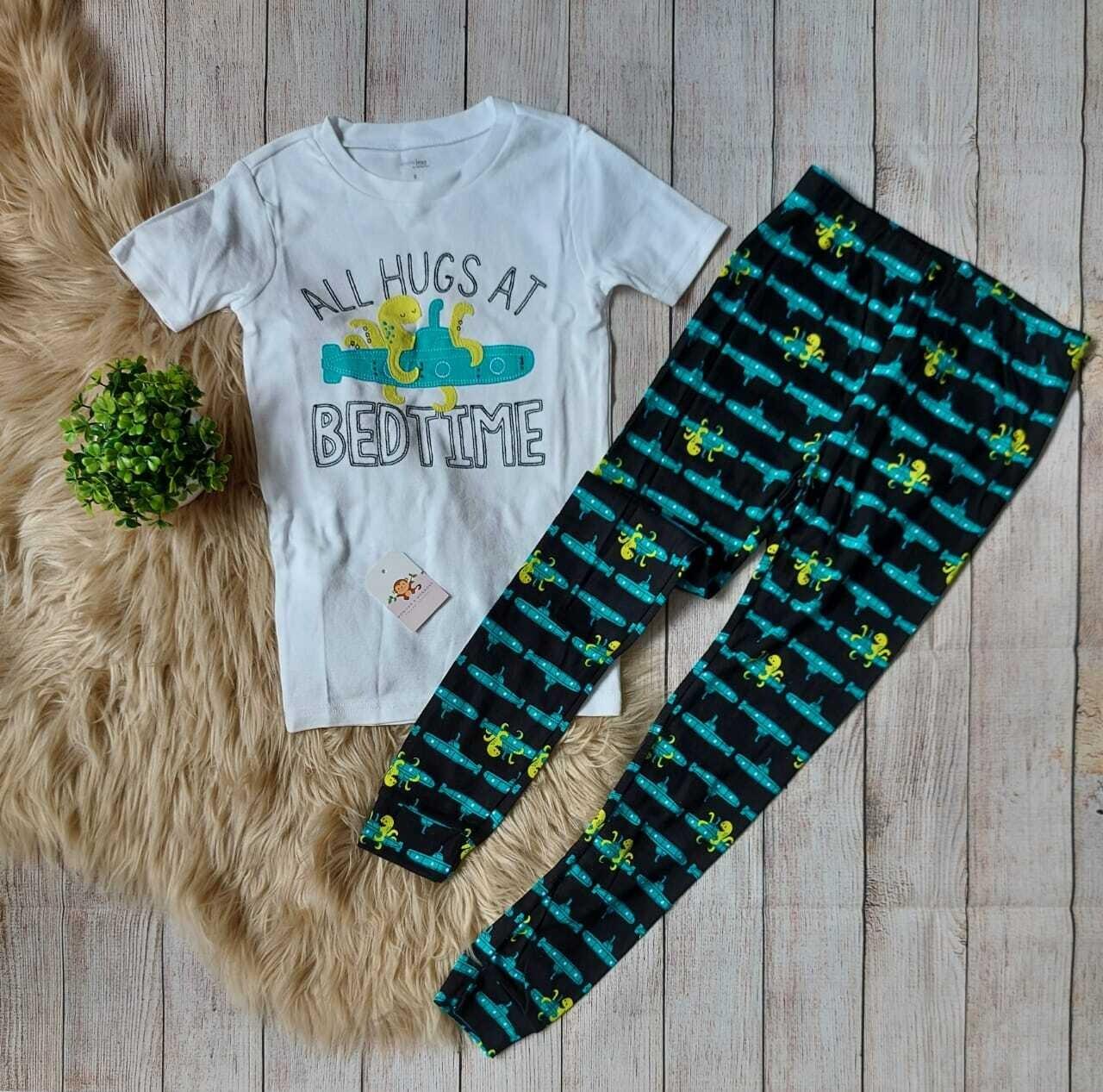 Pijama de aliens Carters, Camiseta + pantalón, 8 años