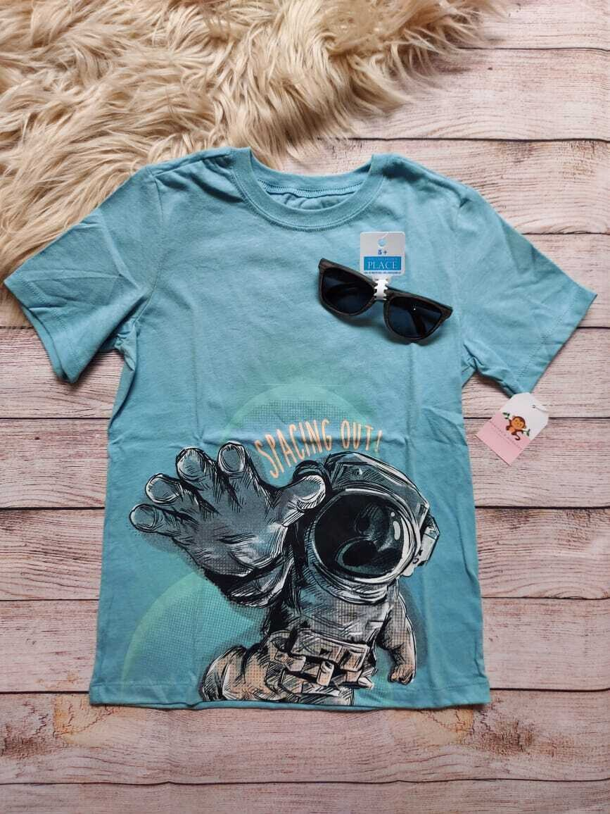 Camiseta Carter's de astronauta, 8 años