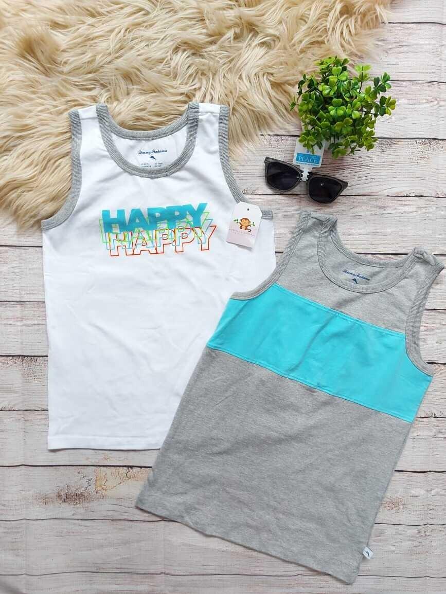 Pack 2 camisetas bbd Tommy Bahama, 7-8 años y 10-12 años