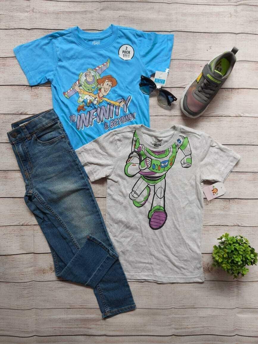 Pack 2 camisetas Toy Story, 6 años