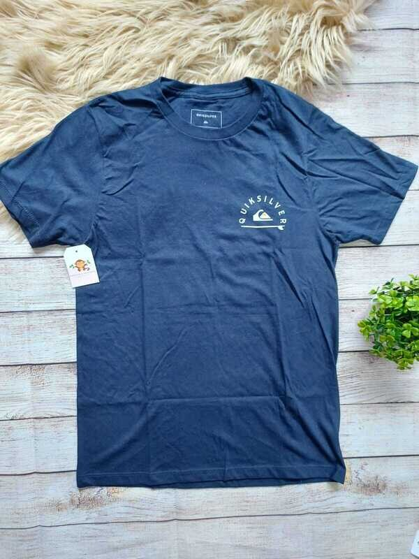 Camiseta Quiksilver azul, 8 a 10 años