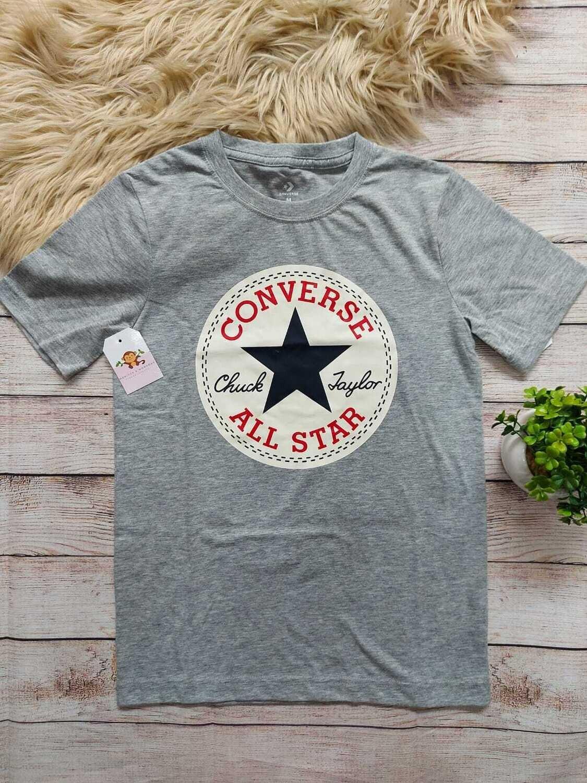 Camiseta gris Converse, 10 a 12 años