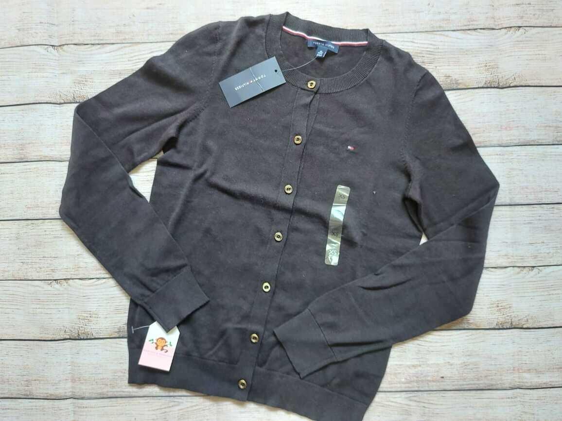 Abrigo gris Tommy Hilfiger, Talla xs (corre small)