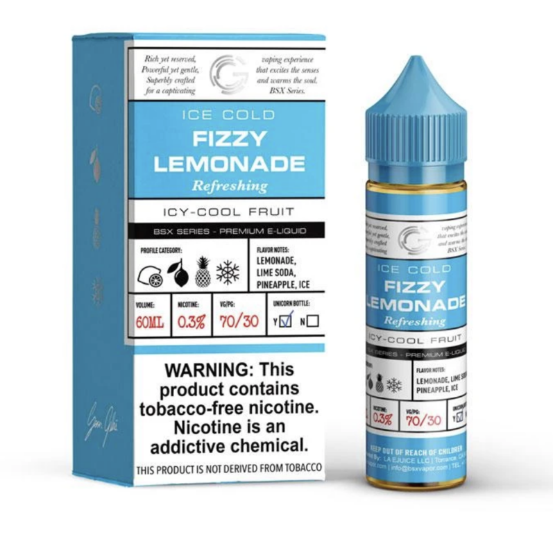 Basix Fizzy Lemonade 60ml