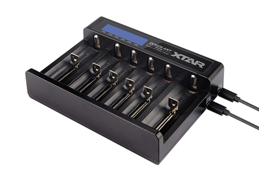 Battery Charger: XTAR Queen Ant 6 bay