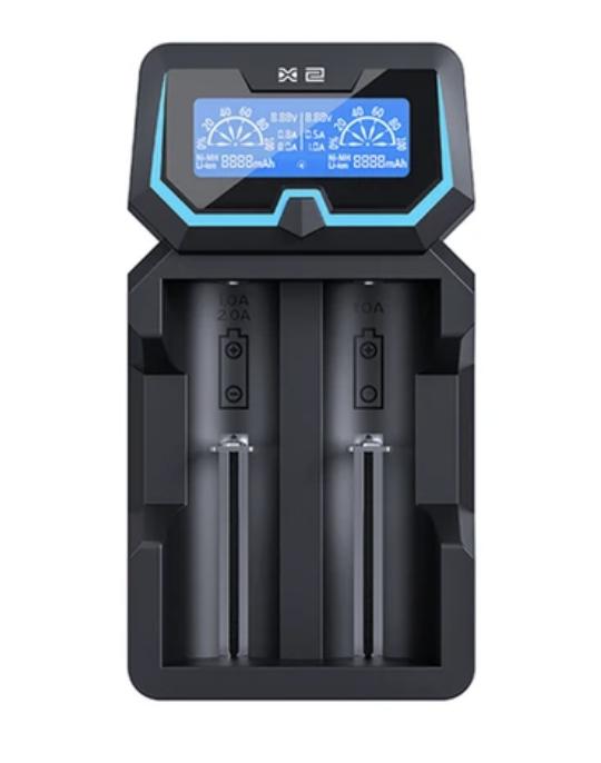 Battery Charger: XTAR X2 (Dual Bay)