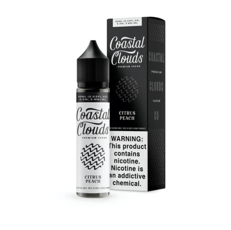 Coastal Clouds Sugared Nectarine 60ml