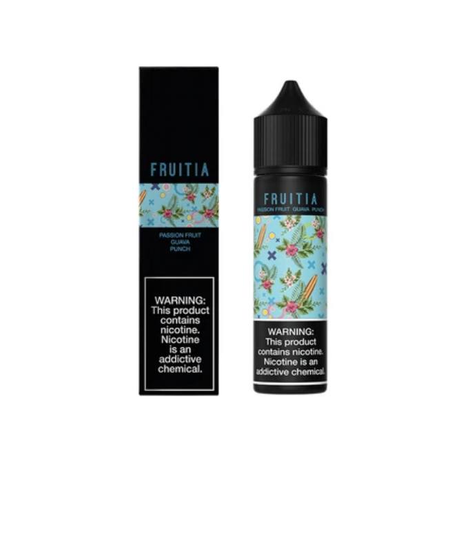 Fruitia Passion Fruit Guava Punch 60ml
