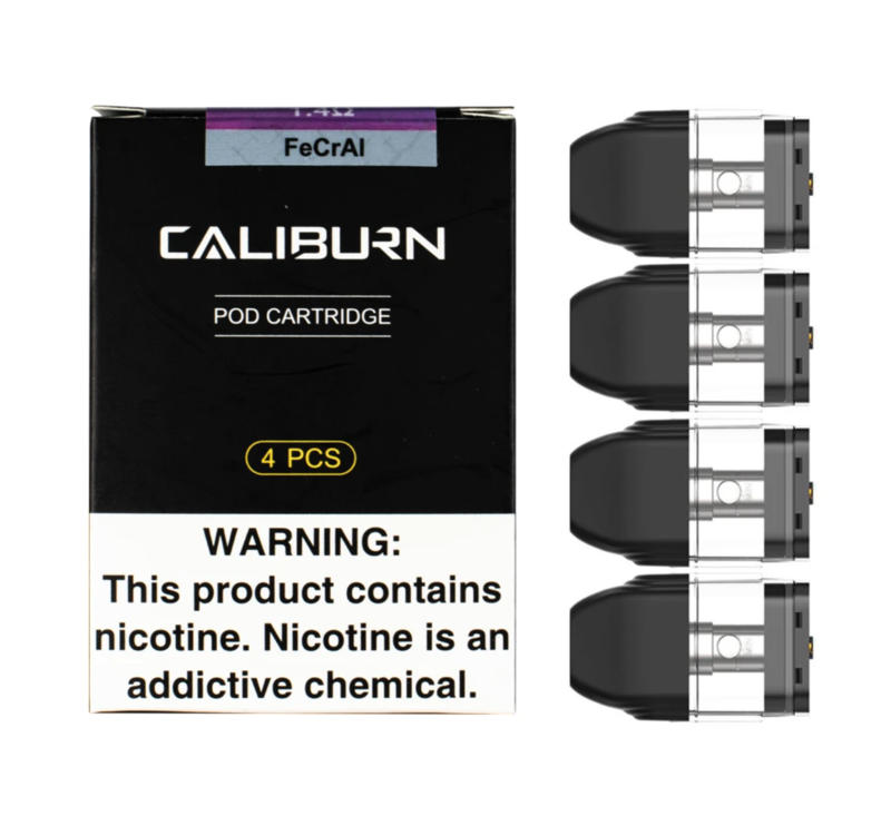 Caliburn Refillable Pods (4 Pack)