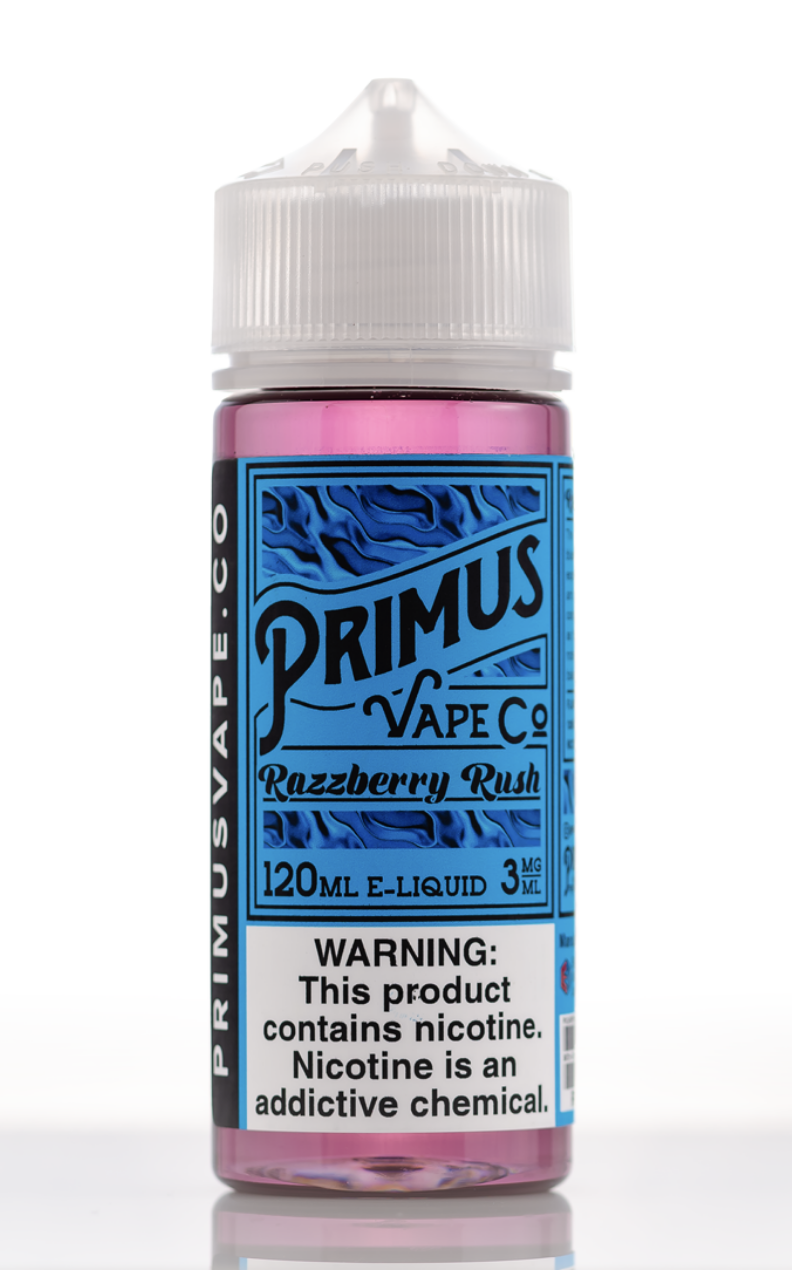 Primus Vape Co. Razzberry Rush 120ml