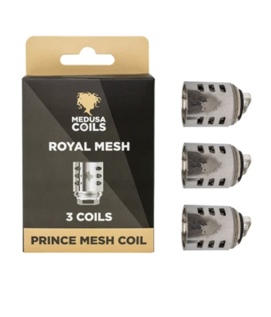 Prince 0.15 Mesh Coils (3 Pack)