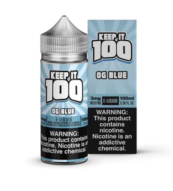 Keep It 100 Blue Slushie 100ml