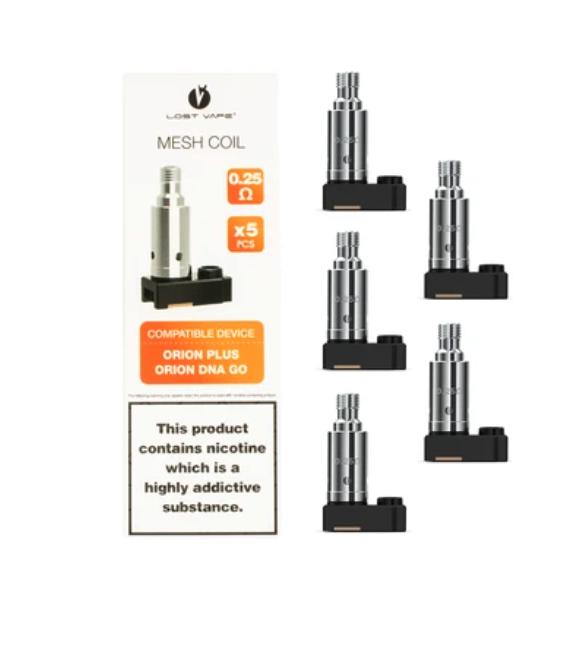 Lost Vape Orion Coils (5 Pack)