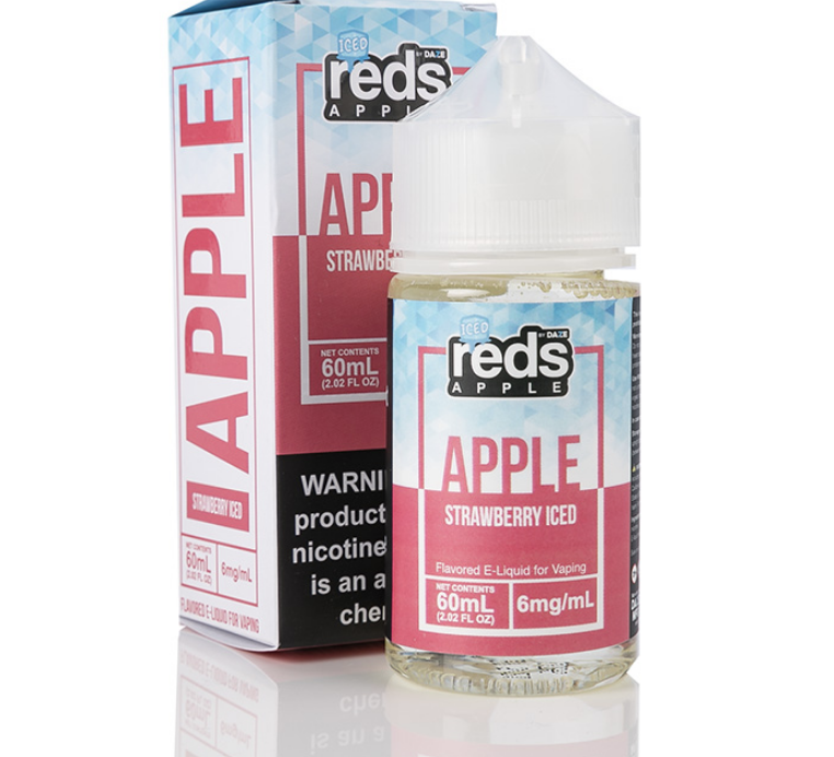 Red's Strawberry Iced 60ml