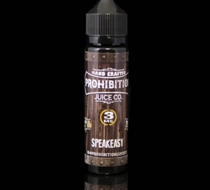 Prohibition Speakeasy 60ml 3mg