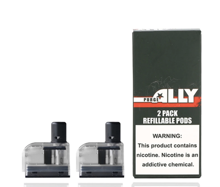 Purge Ally Refillable Pods (2Pack)
