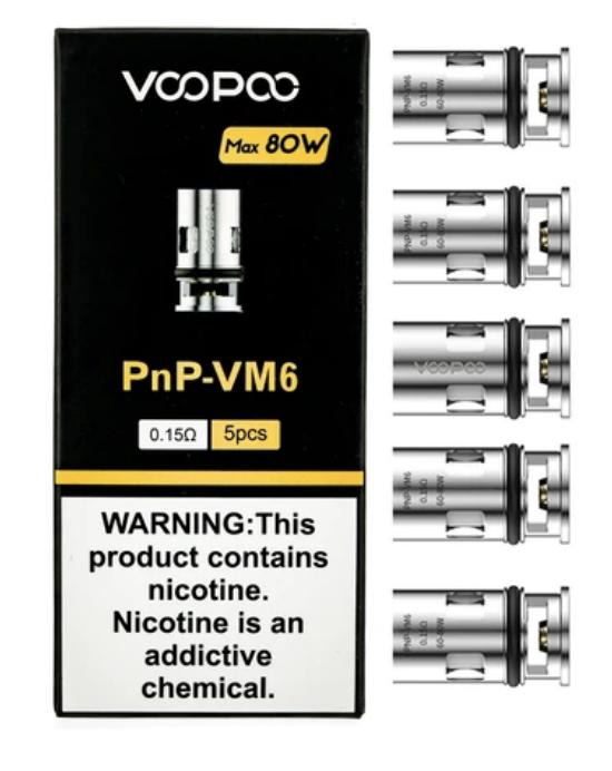 Voopoo PNP-VM6 Coils (5 Pack)