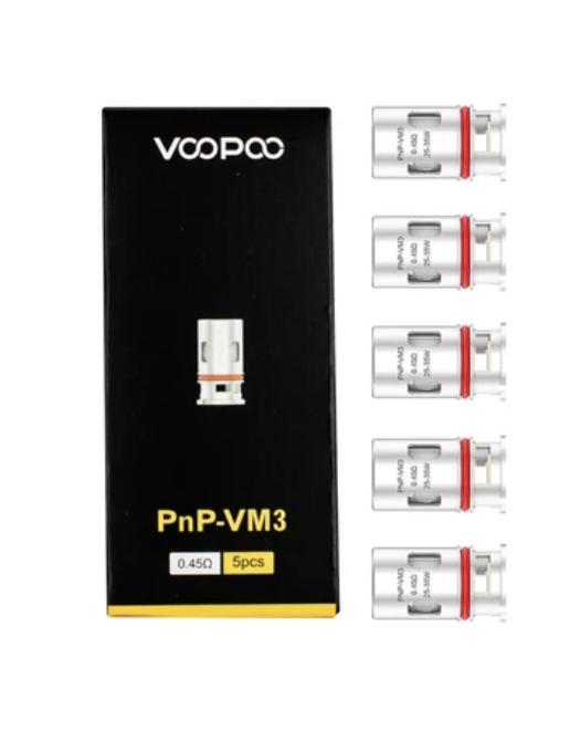 Voopoo PNP-VM3 Coils (5 Pack)