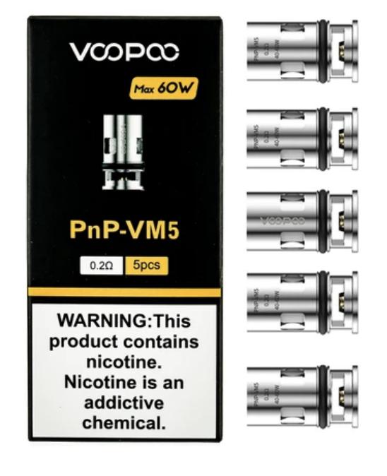 Voopoo PNP-VM5 Coils (5 Pack)