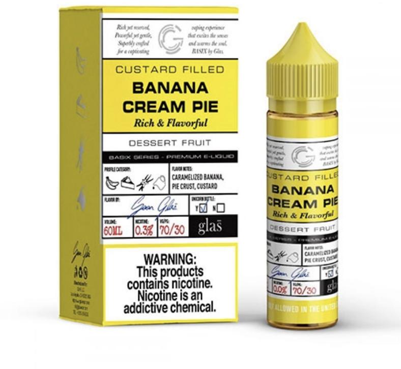 Basix Banana Cream Pie 60ml