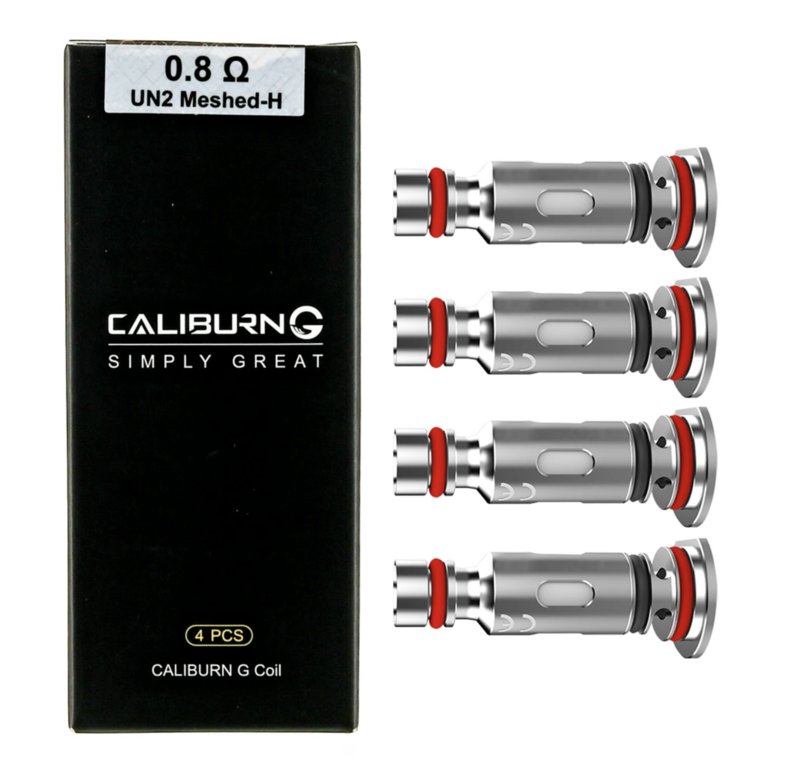 Caliburn G Coils (4 Pack)