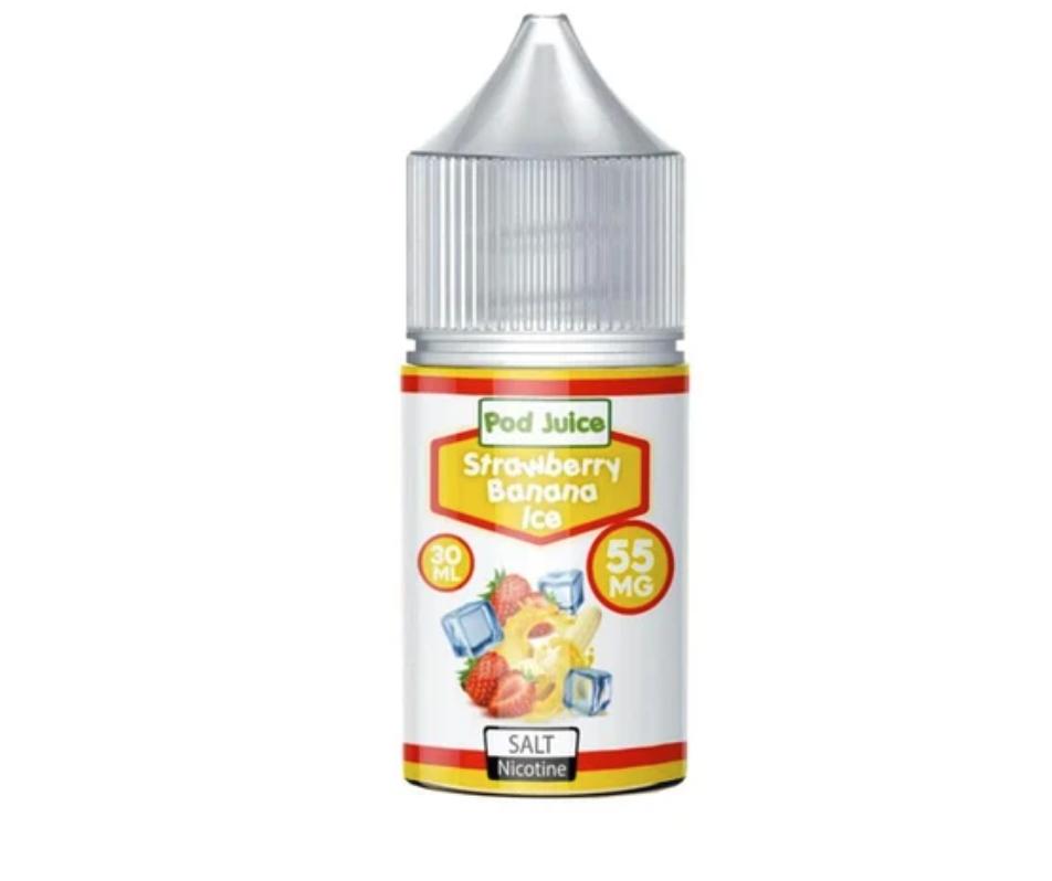 Pod Juice Strawberry Banana Ice Salt